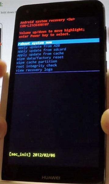 Восстановление загрузчика android