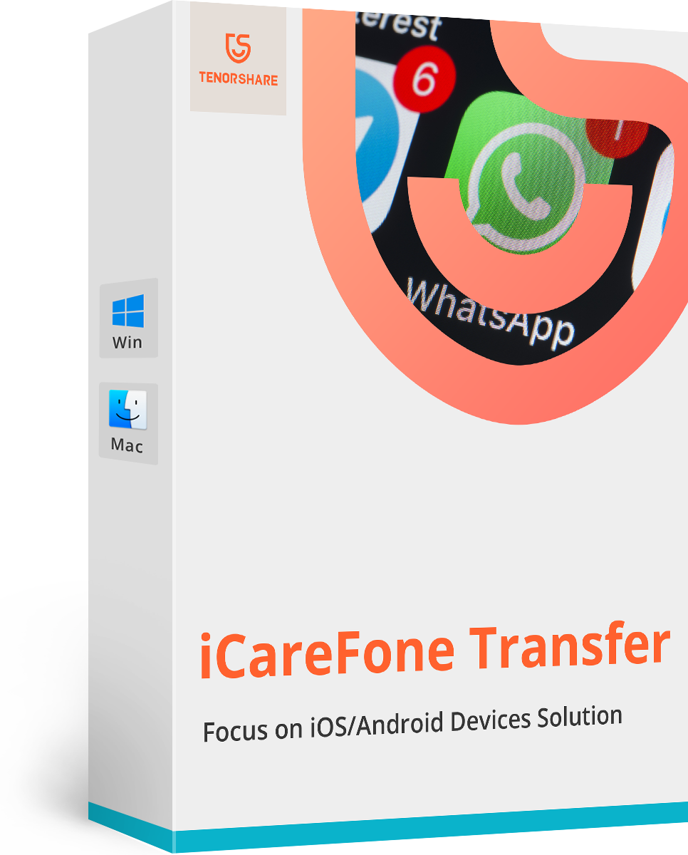 iCareFone for WhatsApp Transfer