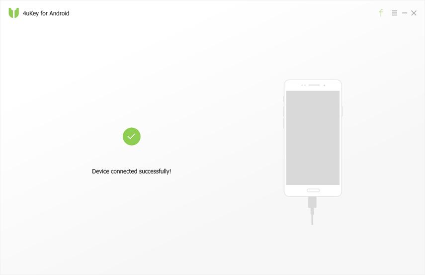 Руководство 4uKey for Android - подключенное устройство