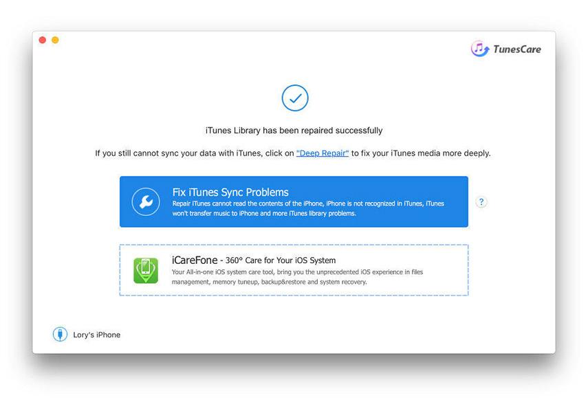 руководство исправить проблемы с синхронизацией iTunes на Mac. Шаг 2 доверять компьютерудобиться успеха