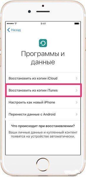 перенести файл с айфон на айфон через itunes