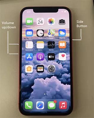 как исправить застревание iphone 12 в режиме восстановления клавишами