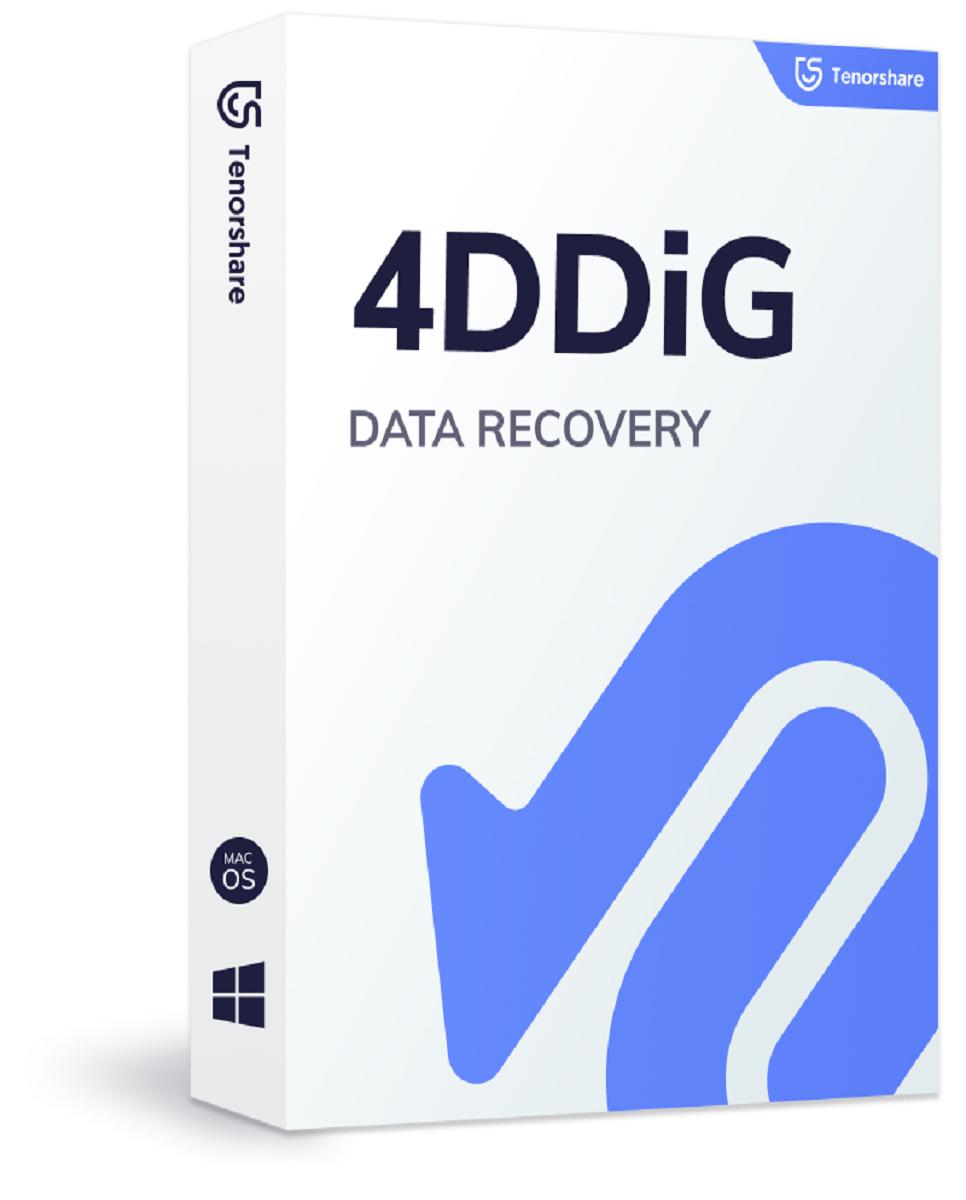 4DDiG - Восстановление данных Windows/Mac